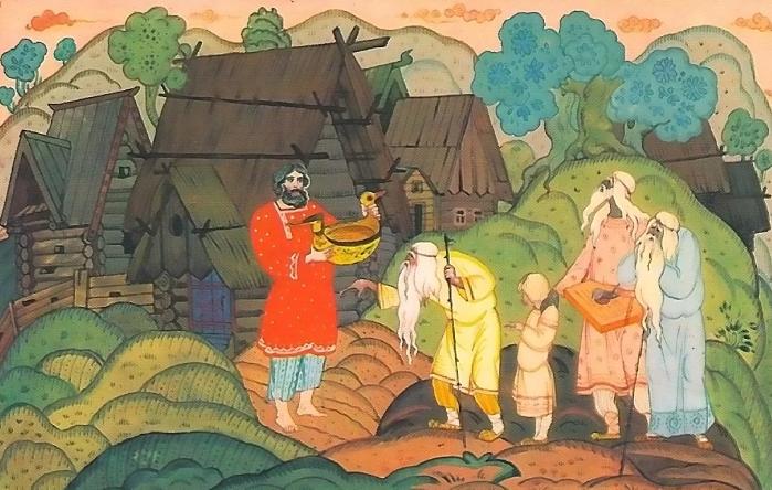 Илья Муромец исцеление