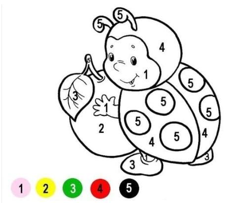 Раскраски по номерам для детей 4, 5, 6, 7, 8, 9 лет. Раскраски по номерам 89 раскрасок. Номер раскраски, номер цвета.