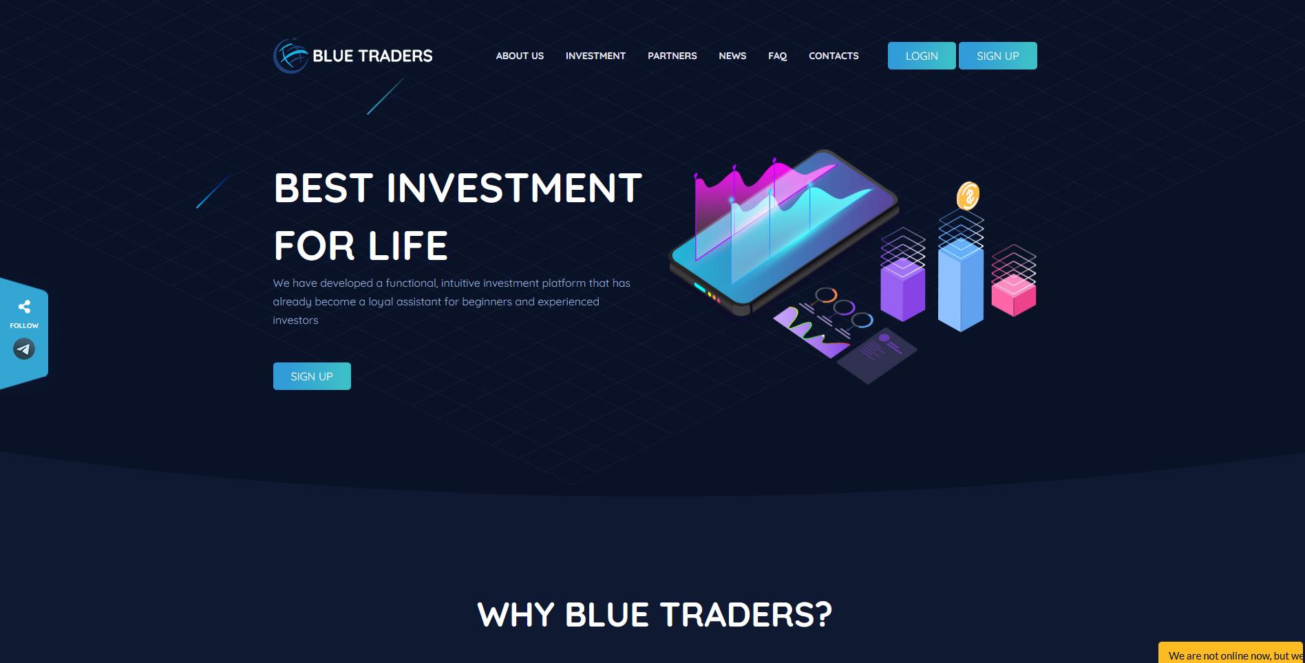Blue Traders - blue-traders.com