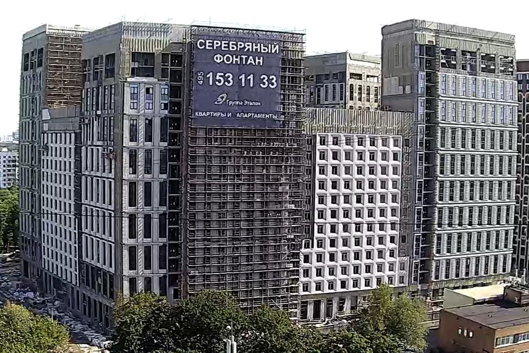 Веб-камеры на площадке строительства ЖК «Серебряный фонтан»  - Страница 25 8L07WoYx